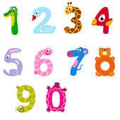 Numbers like animals