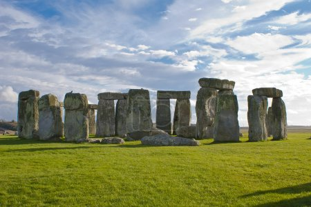 Stonehenge is a 5,000 years old UNESCO World Heritage site in Wiltshire, England.