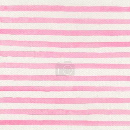 Photo pour Fond aquarelle rose - image libre de droit