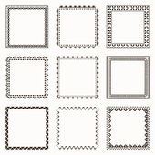 Collection of geometric frames