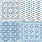 Set of simple geometric patterns