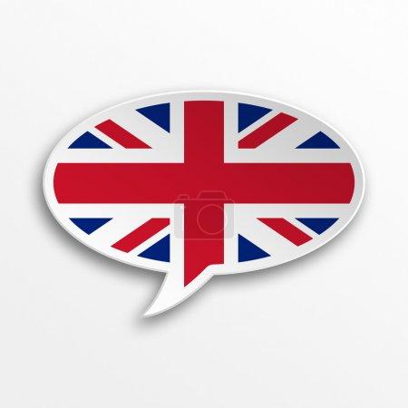Photo pour Bulle 3D - Angleterre - image libre de droit