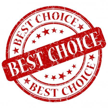 Photo pour Meilleur timbre de choix - image libre de droit