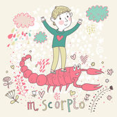 Cute zodiac sign - Scorpio