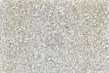 Foto de Fondo plata brillo con una textura áspera - Imagen libre de derechos