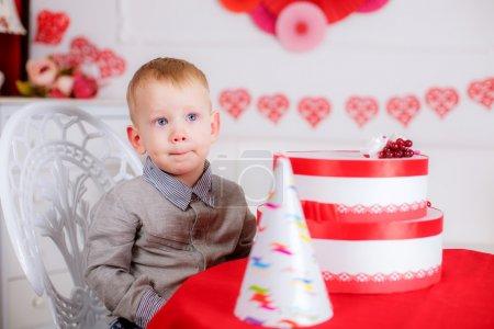 Birthday of little boy
