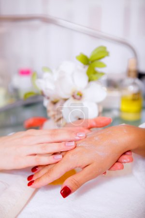 Spa treatments for hands