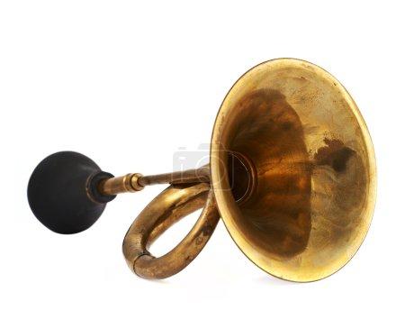 Horn Klaxon Instrument isoliert