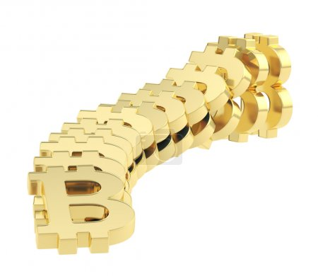 Bitcoin signs falling as a domino effect