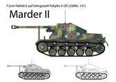 German WW2 Marder II tank destroyer