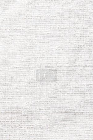 Photo for White fabric texture background - Royalty Free Image