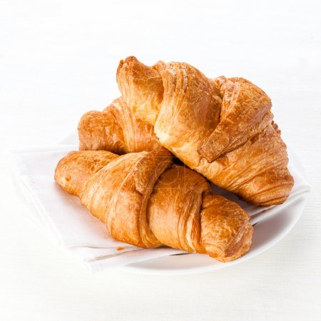 Photo for Croissants on white background - Royalty Free Image