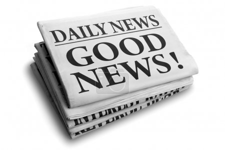 Good news daily newspaper headline
