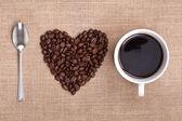 "Постер, картина, фотообои ""я люблю кофе"""