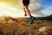 Egészséges futó ember