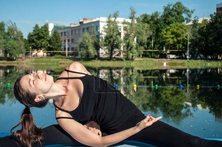 Portrait of a yoga-girl