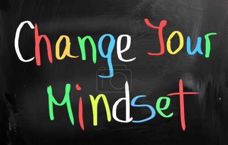 Photo for Change Your Mindset Concept - Royalty Free Image