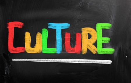 Photo pour Concept de culture - image libre de droit