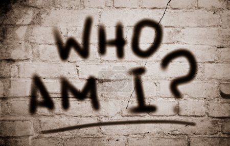 Photo pour Qui suis-je Concept - image libre de droit