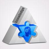 Prism puzzle: knowledge concept