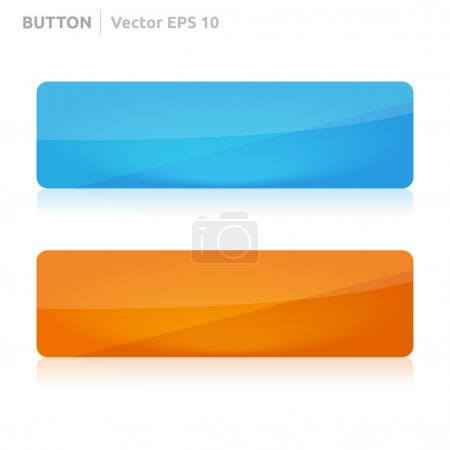 Button template web blue and orange