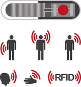 Implantable Radio Frequency Identification tag Icon