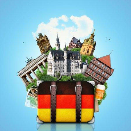 Germany, German landmarks, travel
