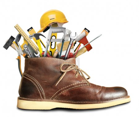 Tools and Shoe