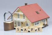 Bezpečné - model domu