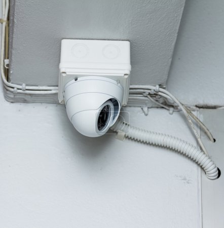 Photo for CCTV cameras installed in the building - Royalty Free Image