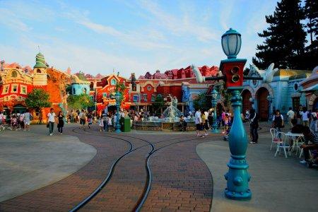 Tokyo Disneyland in Toontown...