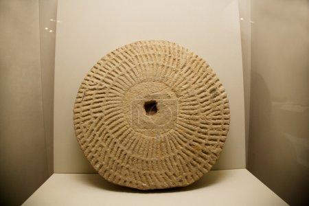 Xian Qin Qin Terracotta Warriors and Horses Museum display processing grain stone mill
