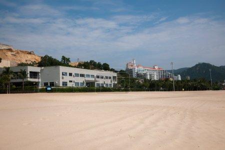Guangdong Province, Shenzhen Meisha gold coast street construction