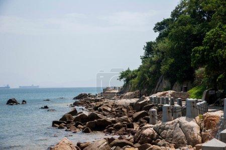 Shenzhen, Guangdong Province Dameisha Waterfront Park Valentine's gold coast trail