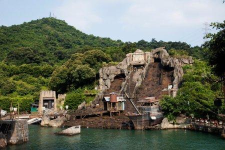 "Shenzhen City, Guangdong Province, East Dameisha ""roaring torrents' playground"