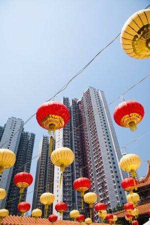 Kowloon, Hong Kong Wong Tai Sin Temple group downstairs