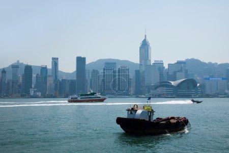 Victoria Bay, Kowloon, Hong Kong