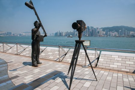 Victoria Bay, Kowloon, Hong Kong Avenue of Stars Sculpture