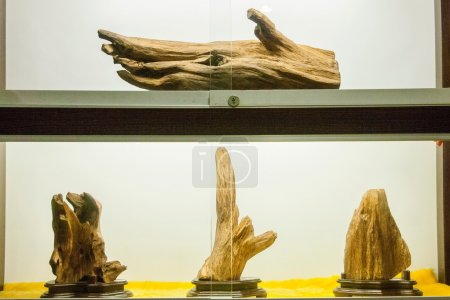 "Puli Township, Nantou County, Taiwan Thao Cultural Exhibition Center exhibition ""agarwood"""
