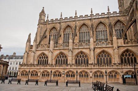 Bath Abbey Architecture Somerest England