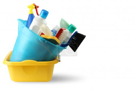 Basin and bucket cleaning detergents