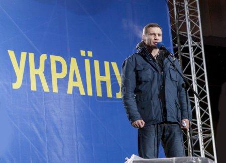 Vitali Klitschko. Euromaidan