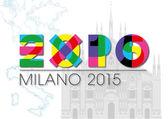 Expo 2015 Milánó Olaszország szimbólum