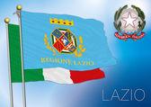 Lazio regional flag italy