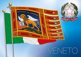 Veneto regional flag italy