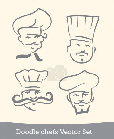 Doodle chefs set