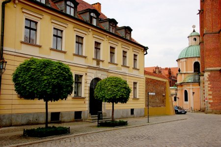 Historical city of Wroclaw