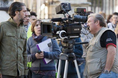 Shooting the movie - Maldita Venganza -