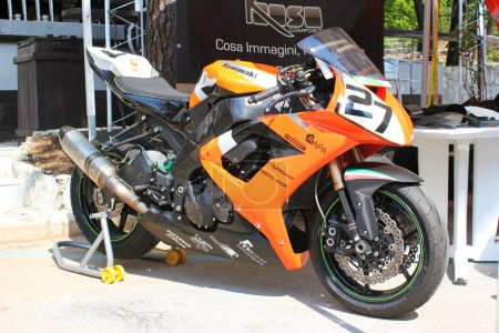Exposure new kawasaki race bikes