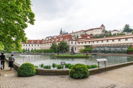 Garden of the Senate of the Parliament in Prague